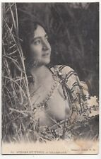 Morocco; Mauresque, Collection Ideale PS PPC Bare Breasted Woman in Ethnic Dress