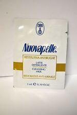 Dibi Nuovapelle Restorative Anti-Wrinkle Cleansing Milk Sample 0.10 oz set of 18