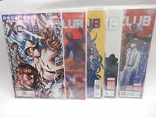 Regenesis X-Club Marvel Comic Book Limited Series 1-5 Complete Near Mint Set
