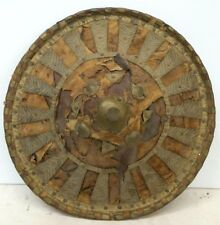 Asian Metalwork Shield Cone Shape