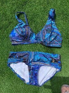 Vintage Triumph Bikini Set UK Size 38  Uk Size 12