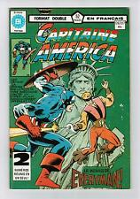 FRENCH COMIC FRANÇAIS EDITION HERITAGE CAPITAINE AMERICA  #  126 / 127