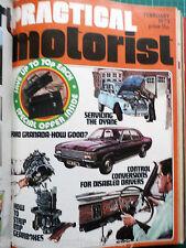 Practical Motorist 1973 Ford Granada DAF 66 Impressions Bristol Citroen Dyane