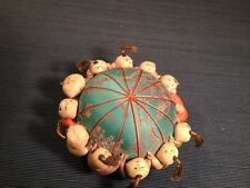 Rare Antique Unique Handmade Chinese Pin Cushion Babies Garden Weird Bazaar