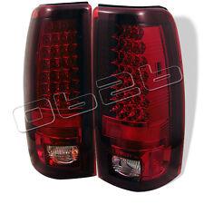 Chevy Silverado 1500 2500 99-06 GMC Sierra 1500 2500 3500 99-06 RED CLEAR