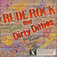 NEW Rude Rock And Dirty Ditties (X) (Audio CD)