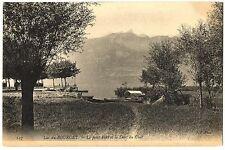 CPA 73 Savoie Lac du Bourget le Petit Port et Dent du Chat