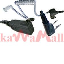 Ear PTT Mic Acoustic tube for KENWOOD TK Two Way Radio