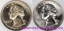 1993 P & D Washington Quarter Choice/Gem Bu Set No Reserve