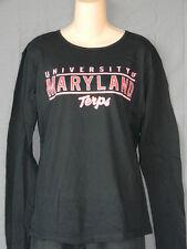 NEW University of Maryland Terrapins Women's T-Shirt Top Shirt Pullover L 3XL