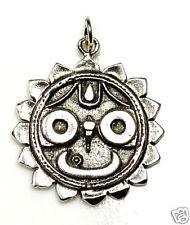 COOL Deity Lord Jagannath Puri Vishnu Hindu silver 925 charm
