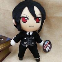 "Kuroshitsuji Black Butler Sebastian Michaelis Anime Figure Plush Doll Toy 10"""