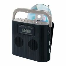 REFURB Jensen Cd-470bk Portable Stereo Compact Disc Player With Am/fm Radio Cd-4
