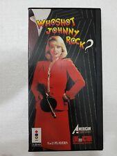 3DO PANASONIC AMERICAN LASER GAMES : WHO SHOT JOHNNY ROCK? LONGBOX
