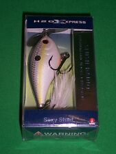 H2O Xpress Slush Daddy Sexy Shad Prop Bait Topwater Lure (Hard to Find)