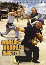 WORLD OF DRUNKEN MASTER Hong Kong RARE Kung Fu Martial Arts Action movie - NEW