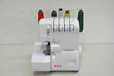 AEG 760 Overlock Nähmaschine *Sehr selten benutzt* 9 Nähprogramme