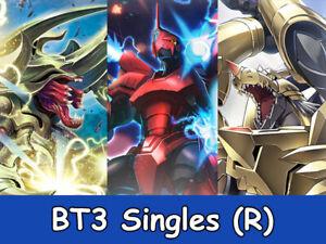 Digimon - BT3 - Rare - Choose Your Single Card