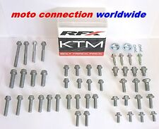 KTM 2003 EXC 125 200 250 300 450 RFX TRACK PACK OEM TYPE BOLTS & FASTENER KIT