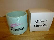 Apple Cinnamon Cheerios Plastic Slinky Toy Cereal Promo Blue Vintage - New
