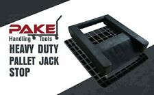 Pake Handling Tools - Pallet Jack Stop - 14.5 x 11.5 x 2.5 Inches
