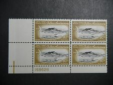 CANAL ZONE C41 PLATE BLOCK MINT  NH OG