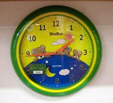 Orologio da parete per bimbo BlissBear Rhythm