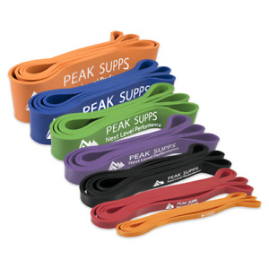 Resistance Band Loop - Exercise Bands. Pull Ups, Gym, Mobility, Rehab, Powerlift
