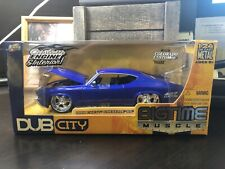 Jada 69 1969 Chevy Chevelle SS Bigtime Muscle Detailed Chevrolet Car 1:24 Blue (