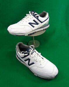 New Balance 574 sz 11 2E white GOLF shoes NBG574