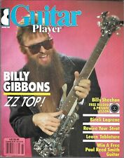 GUITAR PLAYER MAGAZINE MARCH 1986 (VG+) BILLY GIBBONS ZZ TOP