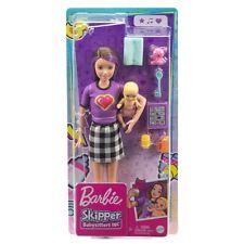 Barbie Skipper Babysitter Inc Brunette Doll & Baby & Accessories - Mattel