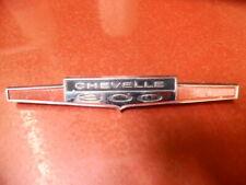 1965 CHEVROLET CHEVELLE 300 LOGO EMBLEM #4485512