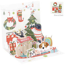 3D Pop Up Greeting Card from Up With Paper - SWEATER DOGS - UP-WP-C-1253