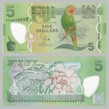 Fidschi / Fiji 5 Dollars 2012 Polymer p115a unc.