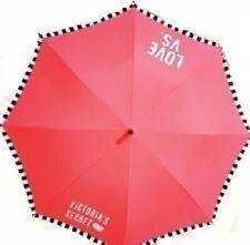 Victoria's Secret Limited Edition 2014 Full Size Logo Umbrella Neon Pink NWT