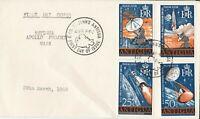 ANT1) Antigua 1968 FDC -satellite tracking station