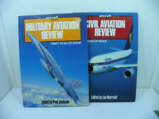 Military and Civil Aviation Reviews ~ First Year of Issue1988 ~ Two Book Set
