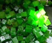 Forme de cube Emeraude colombienne de 250 Ct, pierres précieuses, lots naturels