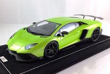 1/18 MR Lamborghini Aventador LP720-4 Ithaca Verde Green Custom Oakley style
