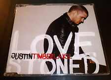 """JUSTIN TIMBERLAKE """"Lovestoned/I Think She Knows"""" 4-Track CD-Single **EXCELLENT**"""
