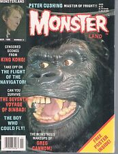 Monster Land #14 Nov 1986  King Kong 7th Voyage Sinbad Flight o/t Navigator