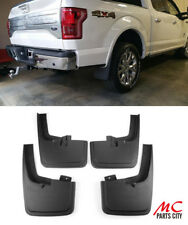 For 2015-2018 Ford F150 WITH Wheel Lip 4PCS Front Rear Mud Flaps Splash Guards