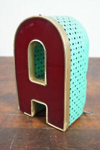 Metal Letter A Vintage Schausteller Leuchtbuchstabe Neon Sign Neon 50er