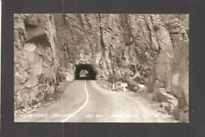 REAL-PHOTO POSTCARD:  ENTRANCE, CLAYPOOL TUNNEL, MIAMI-SUPERIOR HIGHWAY, ARIZONA