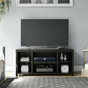 "Mainstays Parsons Cubby TV Stand for TVs up to 50""  True Black"
