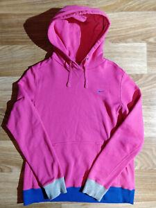 Nike Athletic Dept Vintage Womens Hoodie Tracksuit Top Jacket Hooded Pink