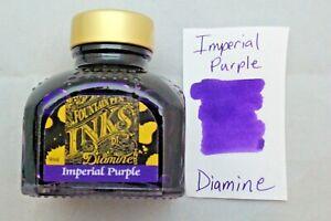 Diamine 80ml Fountain Pen Bottled Ink imperial Purple
