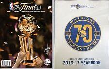 2017 NBA Finals Program 2016 - 17 Cleveland Cavaliers Yearbook Championship