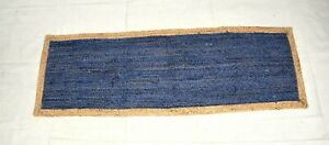 Indien Hand loom Braided Handmade Rags Home Decoration Rugs Natural jute 2x6-1